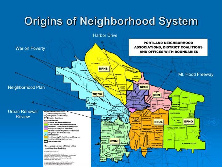 Origins of Neighborhood System