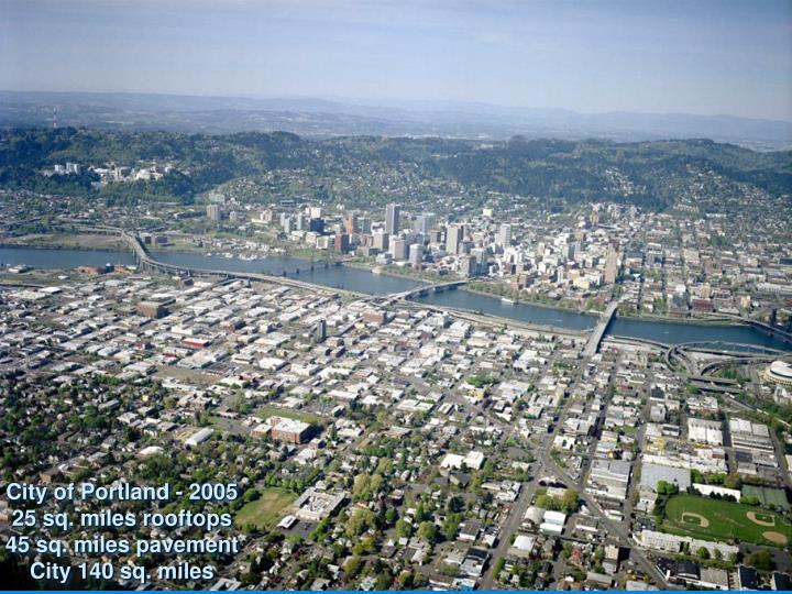 City of Portland - 2005