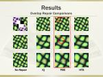 results overlap repair comparisons10