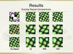 results overlap repair comparisons2