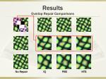 results overlap repair comparisons4