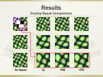 results overlap repair comparisons5