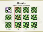 results overlap repair comparisons7