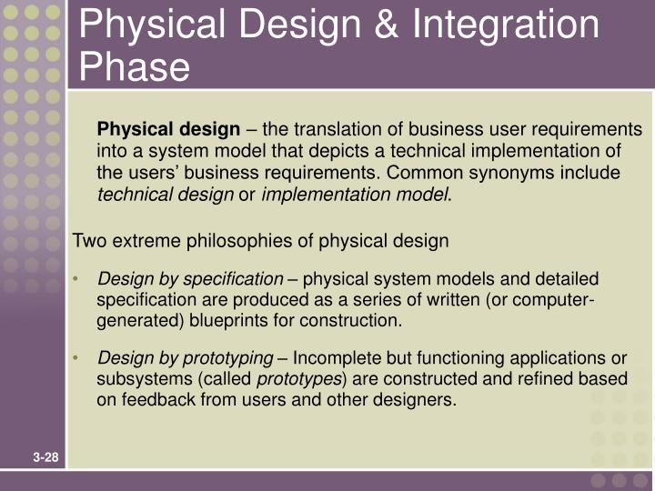 Physical Design & Integration Phase