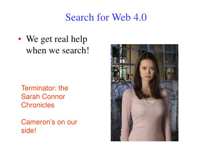 Search for Web 4.0
