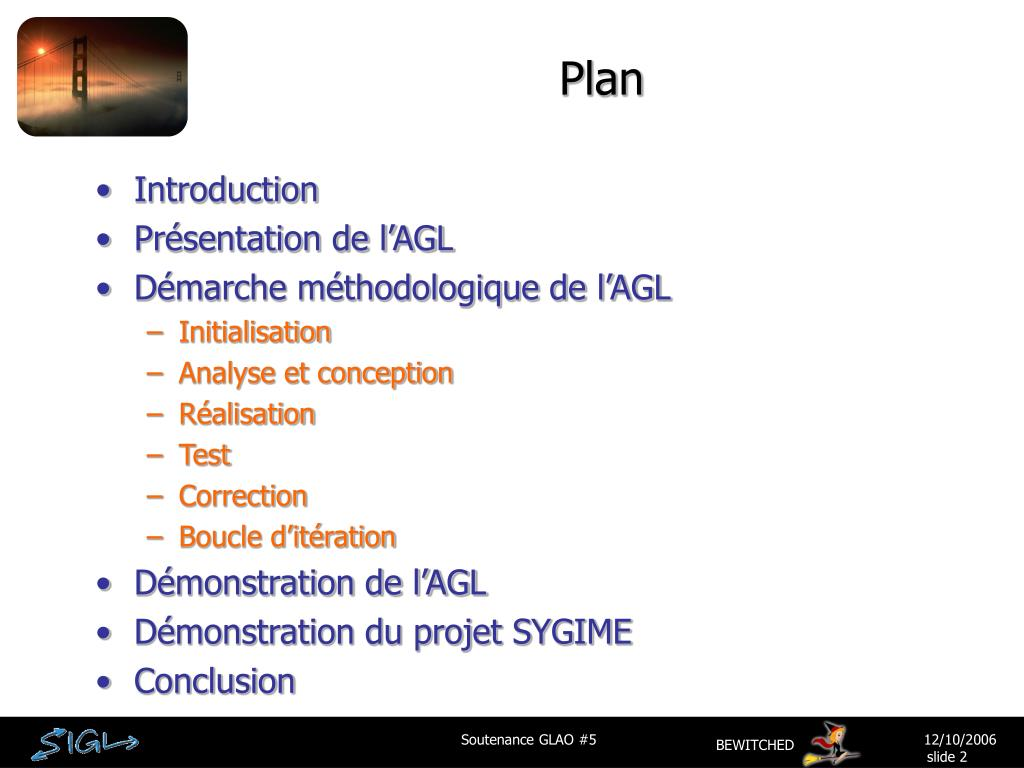 Ppt Soutenance Glao 5 Agl Sygime Powerpoint