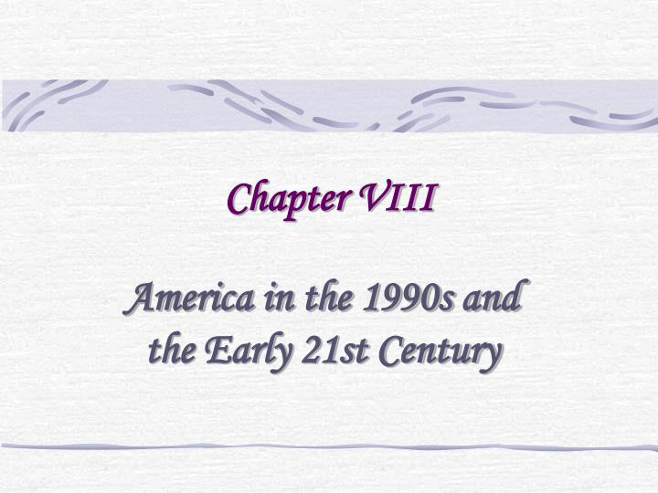 Chapter viii
