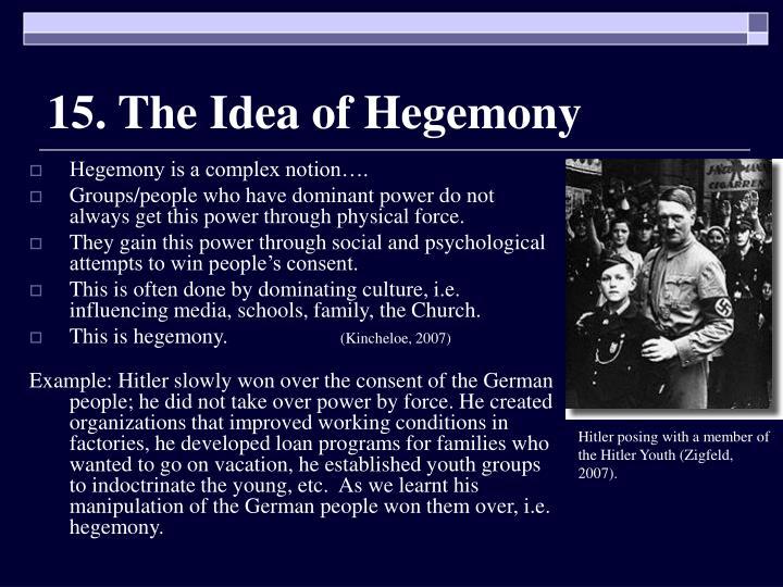 15. The Idea of Hegemony