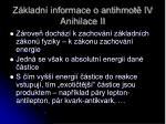 z kladn informace o antihmot iv anihilace ii