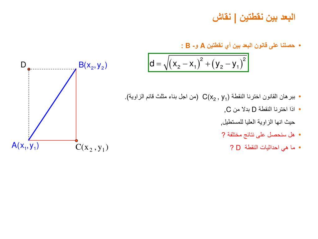 Ppt גיאומטריה אנליטית هندسة تحليلية Powerpoint Presentation Id 6035561