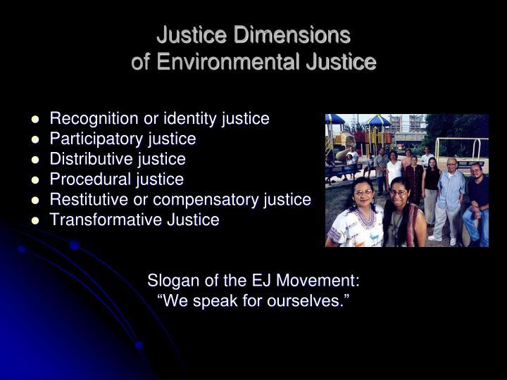 Justice Dimensions