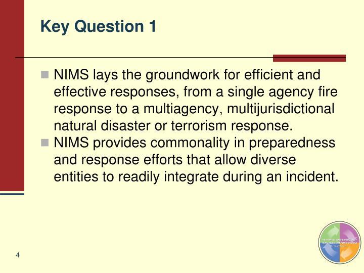 Key Question 1