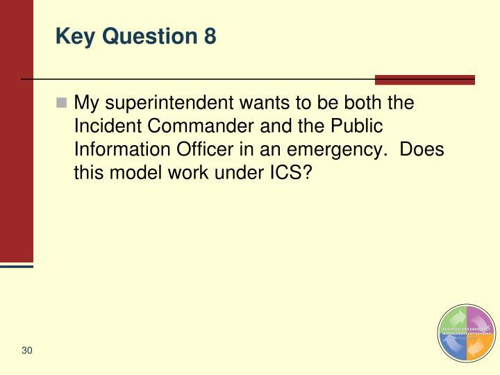 Key Question 8