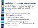 urls uniform resource locators