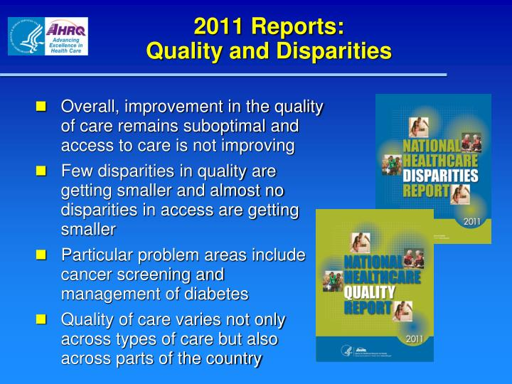 2011 Reports: