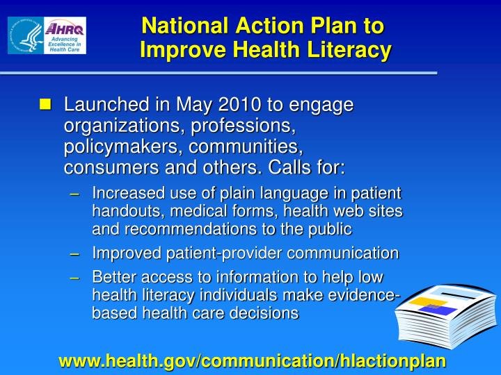 National Action Plan to