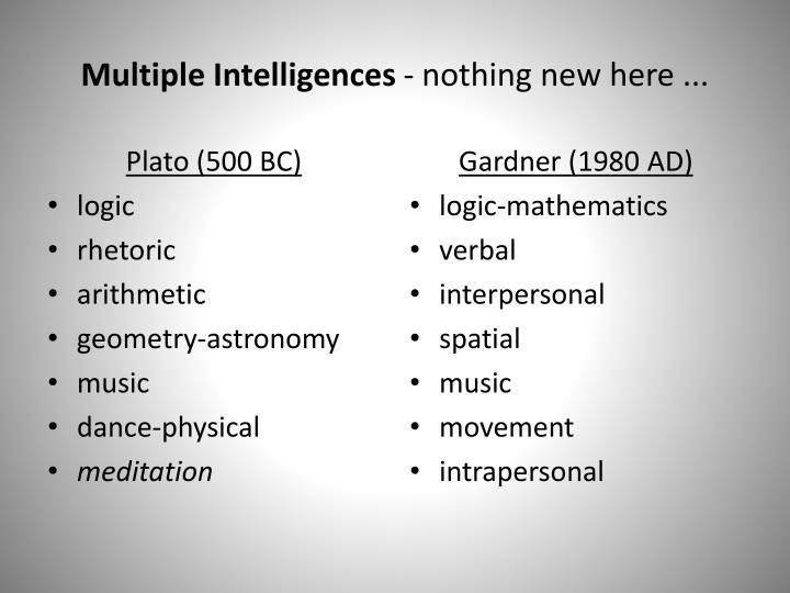 Plato (500 BC)