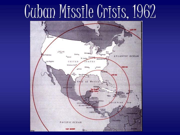 Cuban Missile Crisis, 1962