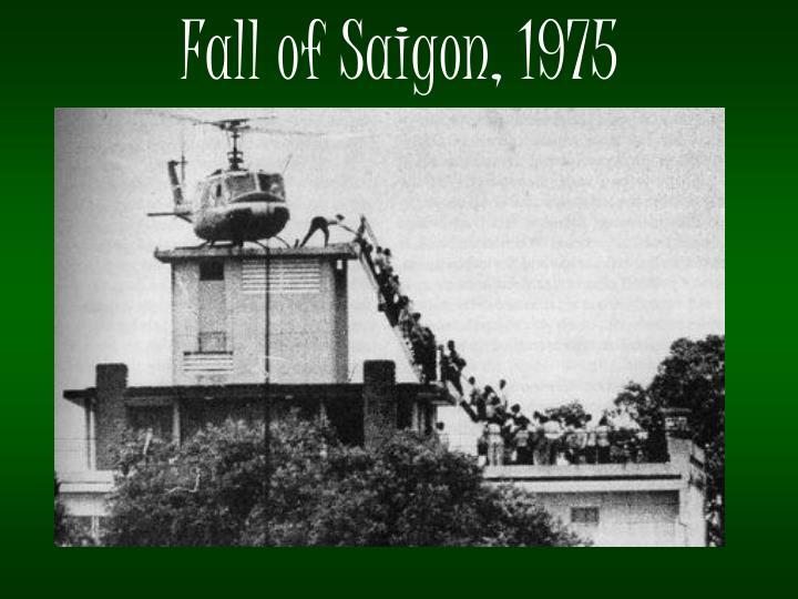 Fall of Saigon, 1975