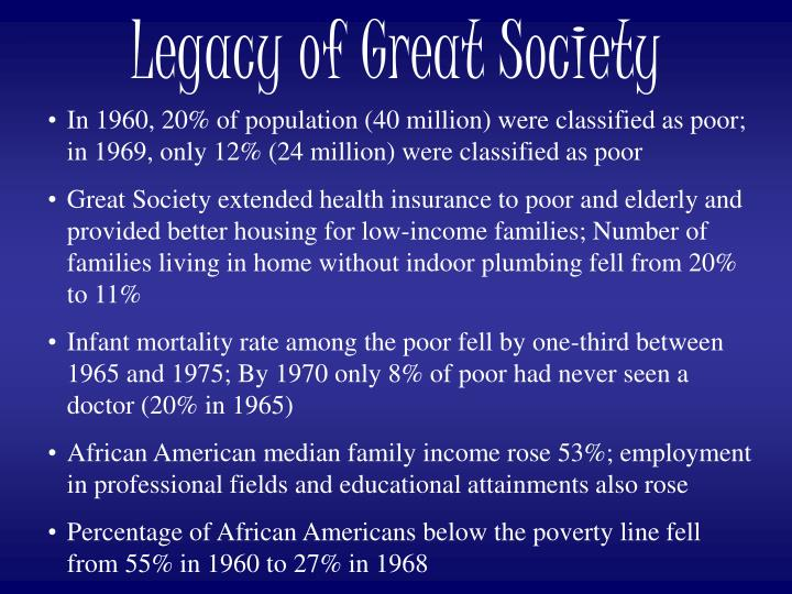 Legacy of Great Society