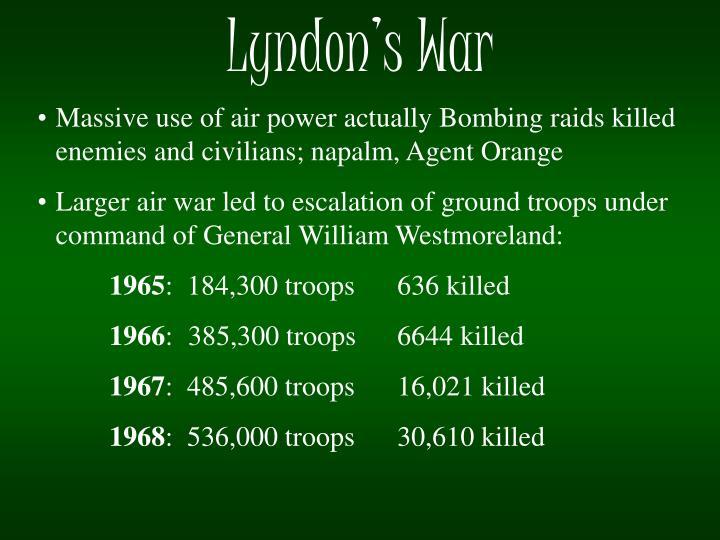 Lyndon's War