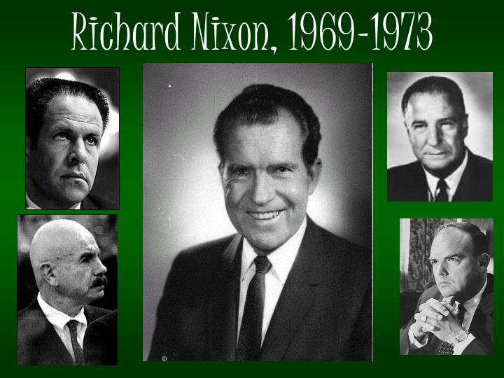 Richard Nixon, 1969-1973
