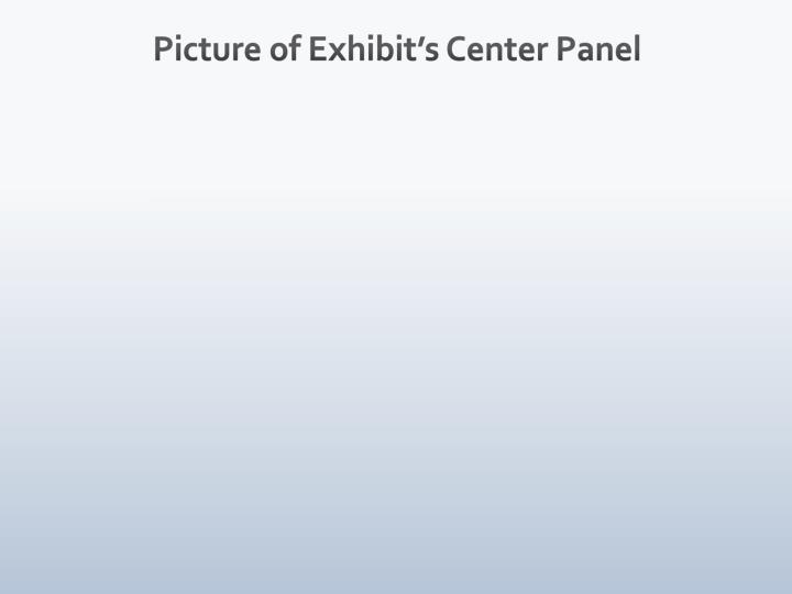 Picture of Exhibit's Center