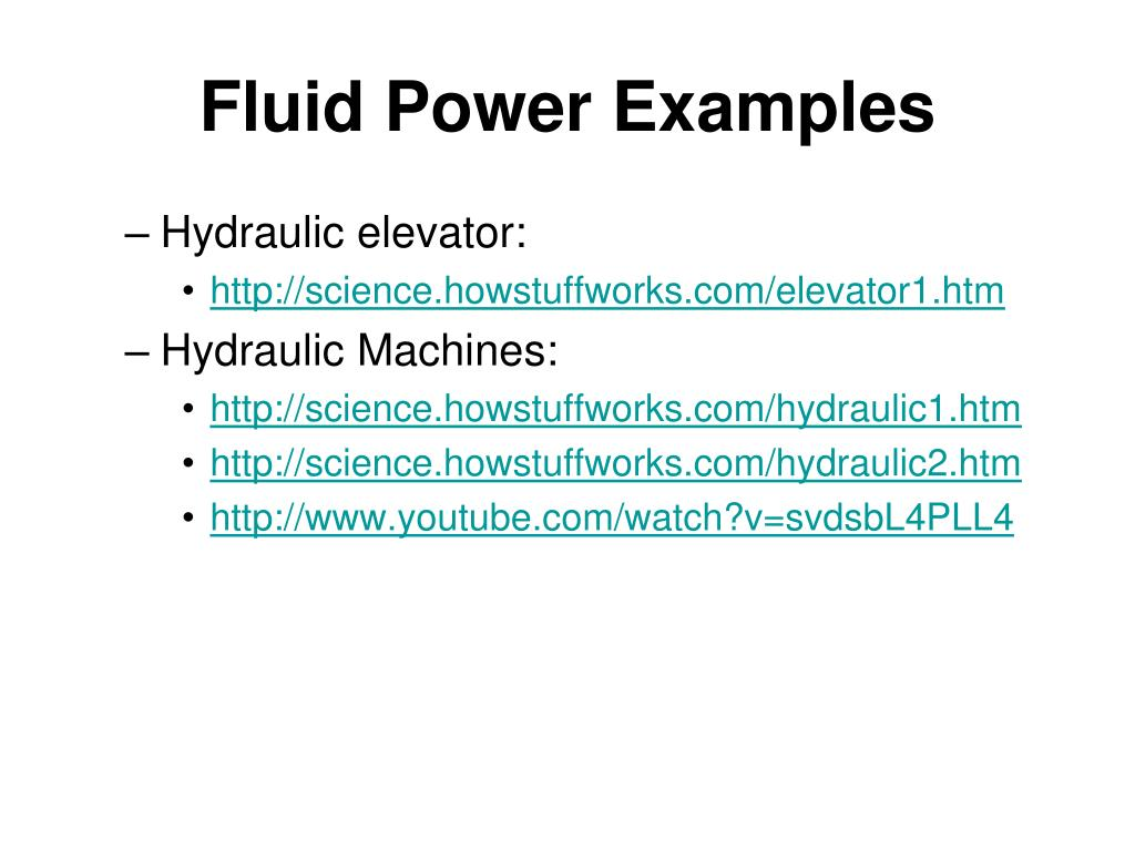 PPT - Fluid Mechanics and Fluid Power PowerPoint