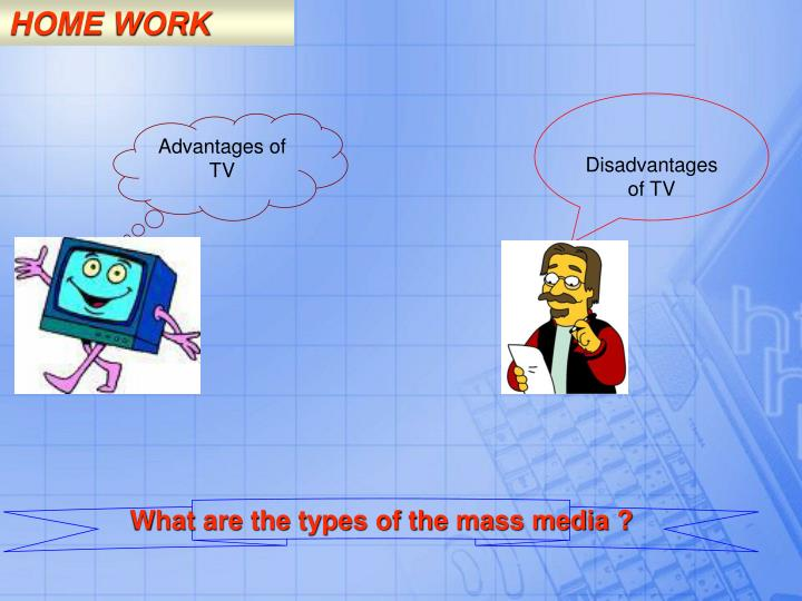 what are the advantages and disadvantages of media on teenagers