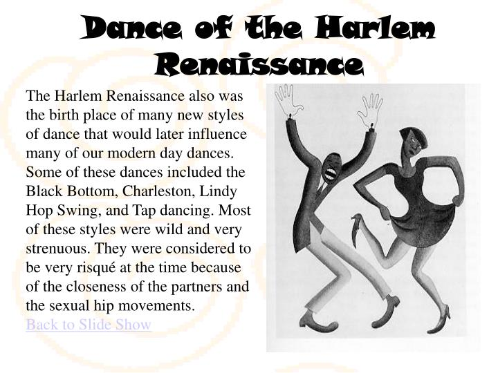 Dance of the Harlem Renaissance