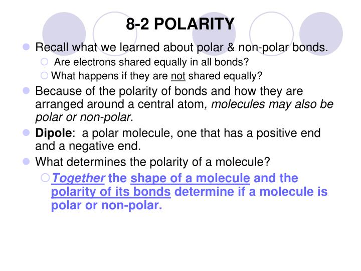 8-2 POLARITY