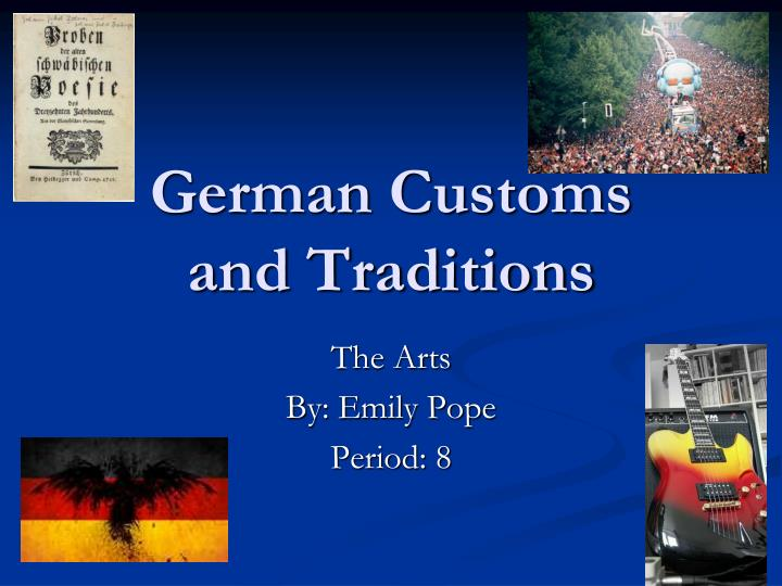 german customs and traditions n.