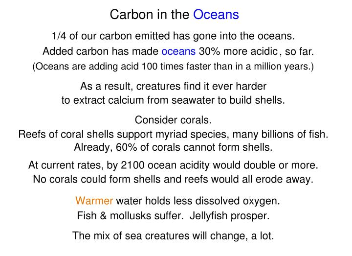 Carbon in the