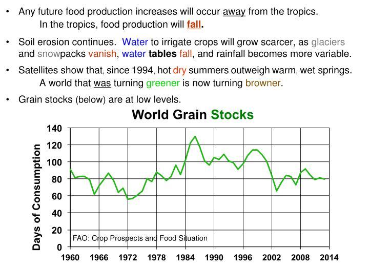 World Grain Stocks