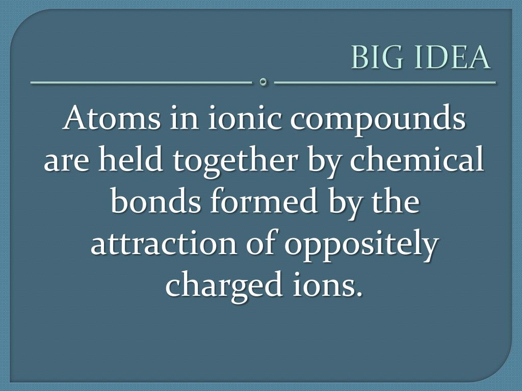 Ppt - Ionic Compounds And Metals Powerpoint Presentation  Free Download