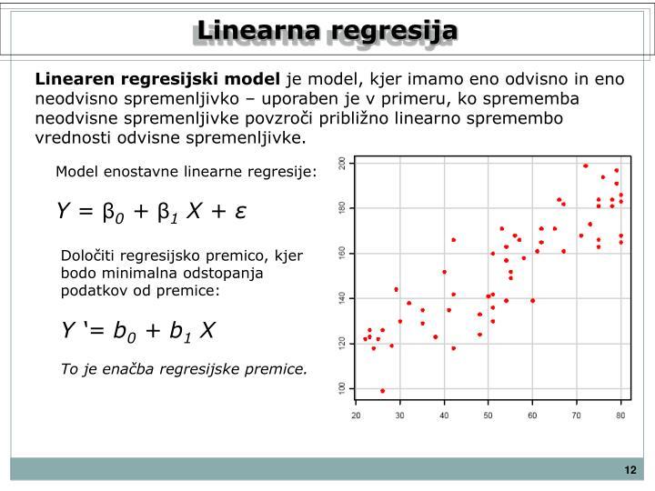 Linearna regresija