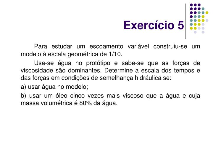 Exercício 5