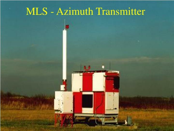 MLS - Azimuth Transmitter