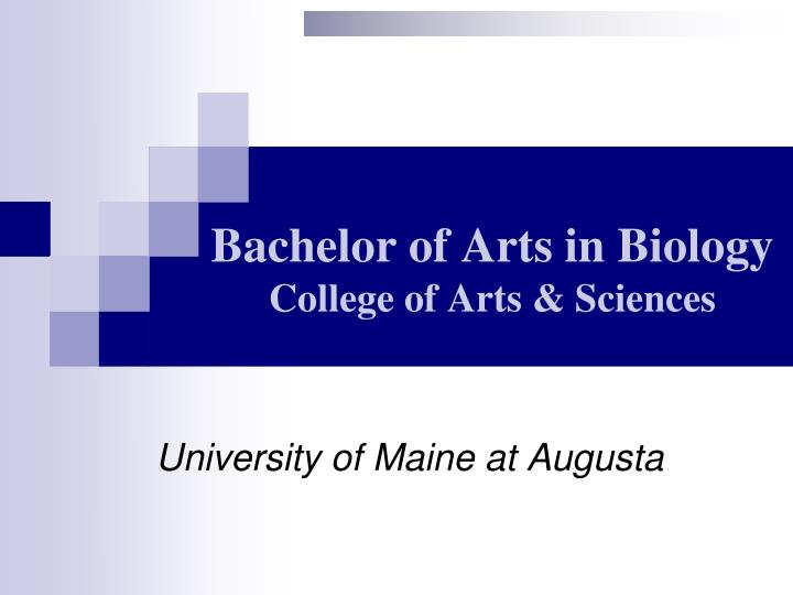 bachelor of arts in biology college of arts sciences n.