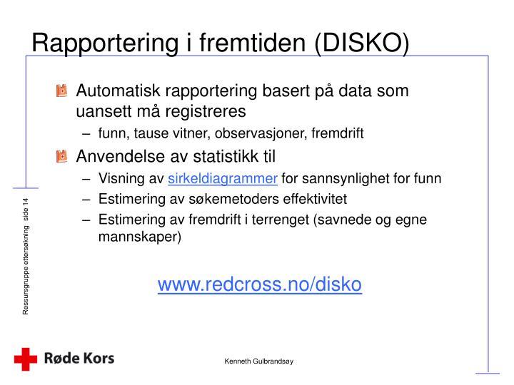 Rapportering i fremtiden (DISKO)