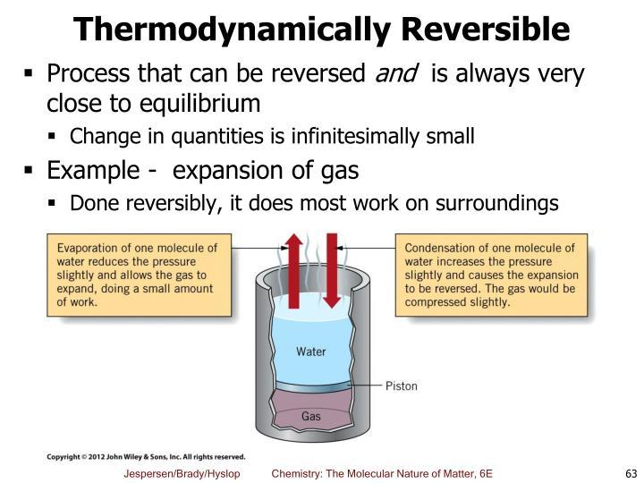 Thermodynamically