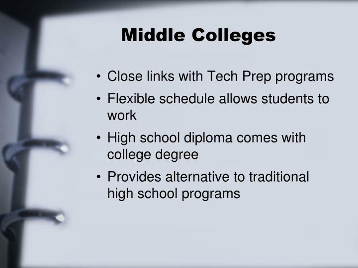 Middle Colleges