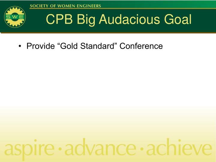 CPB Big Audacious Goal