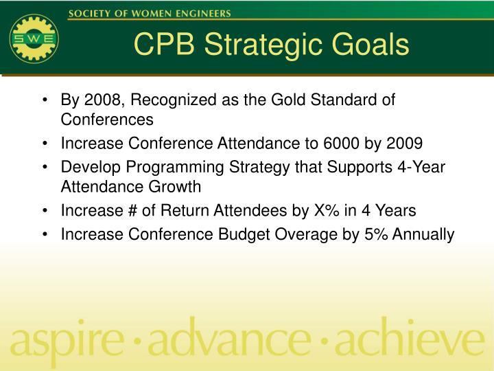 CPB Strategic Goals