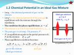 1 2 chemical potential in an ideal gas mixture1