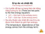 q t do v nhi t free energy and temperature