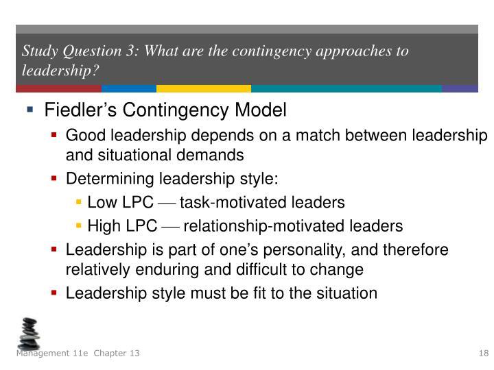 lpc model of leadership