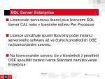 sql server enterprise