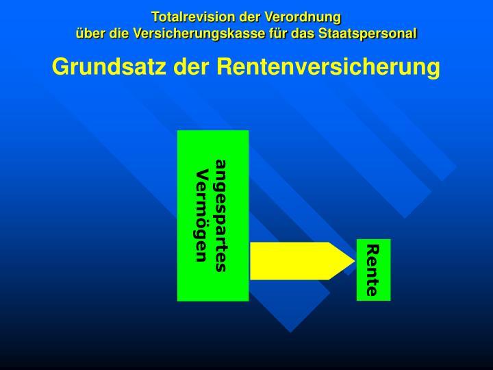 Totalrevision der verordnung ber die versicherungskasse f r das staatspersonal2