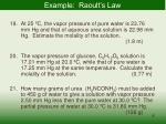 example raoult s law
